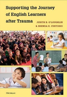 Supporting the Journal of English Learners after Trama (book cover with images of classrooms)