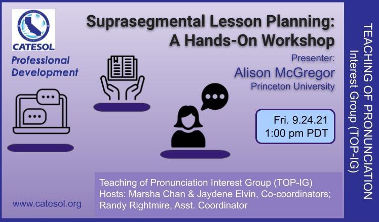 TOP suprasegmental lesson planning