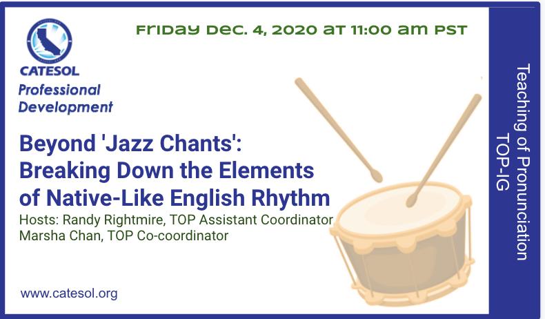 Beyond Jazz Chants