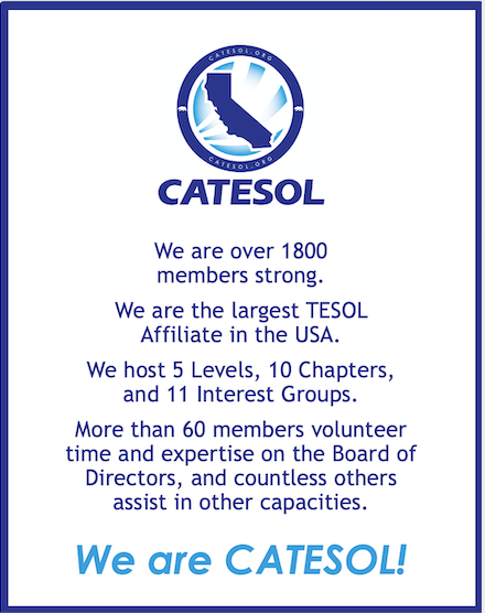 We are CATESOL